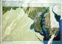 Maryland satellite map