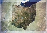 Ohio satellite map