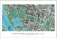 Washington D.C. satellite map