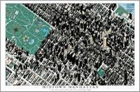 Midtown Manhattan satellite map