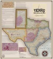 Texas wine map
