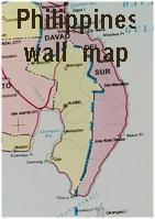 Philippine wall map