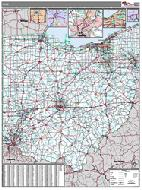 Ohio Wall Map