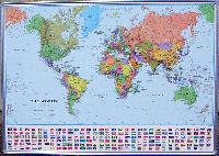 World maps from omnimap the worlds leading international map framed world political maps these maps are laminated on the surface for use with dry erase markers the maps are framed in a sturdy aluminum frame and come gumiabroncs Gallery